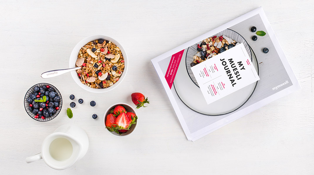 mymuesli journal, first issue for Sweden, the perfect reading material for breakfast